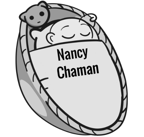 Nancy Chaman sleeping baby