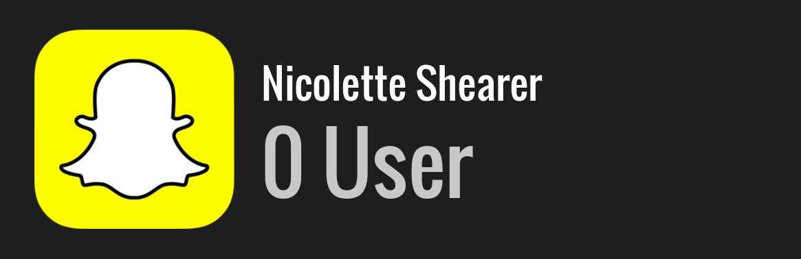 Nicolette Shearer