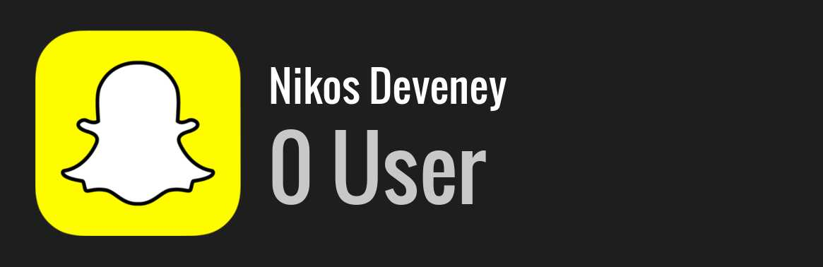 Nikos Deveney snapchat
