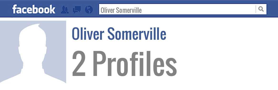 Oliver Somerville facebook profiles