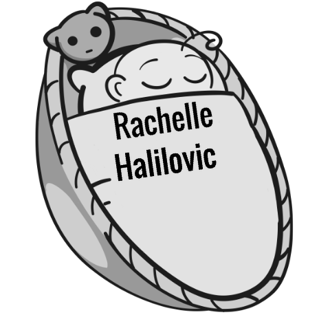 Rachelle Halilovic sleeping baby