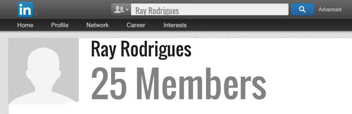 Ray Rodrigues linkedin profile