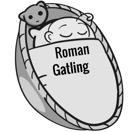 Roman Gatling sleeping baby