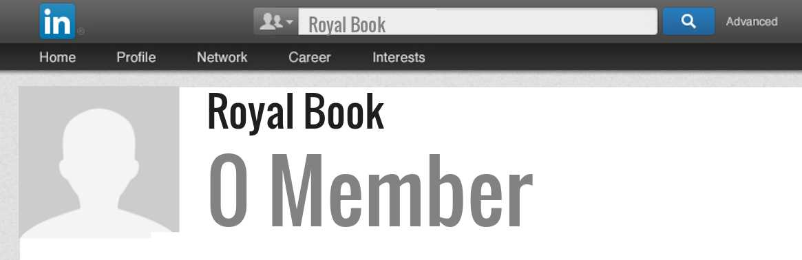 Royal Book linkedin profile