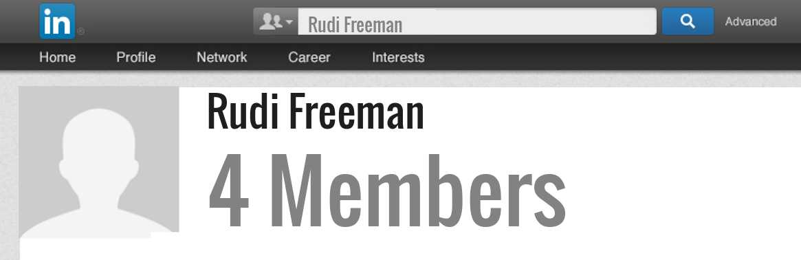 Rudi Freeman linkedin profile