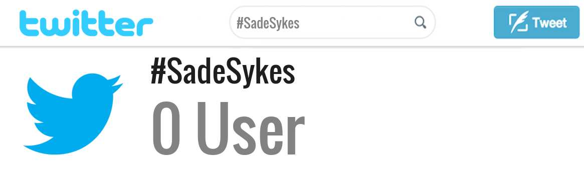 Sade Sykes twitter account