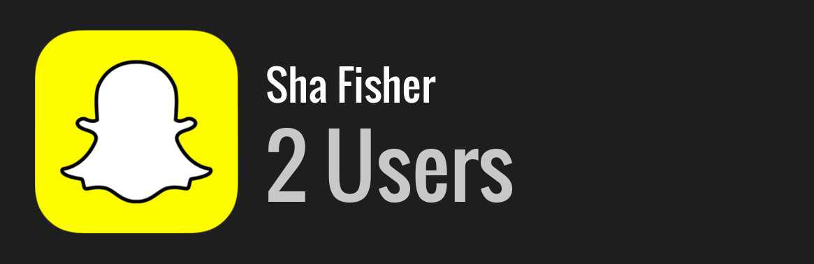 Sha Fisher snapchat
