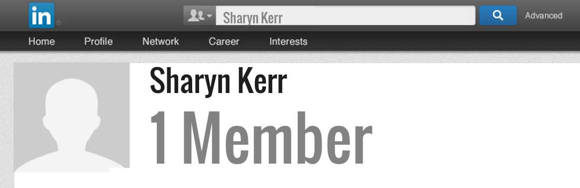 Sharyn Kerr linkedin profile