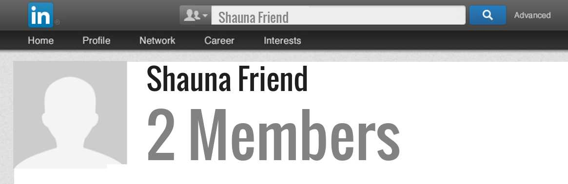Shauna Friend linkedin profile