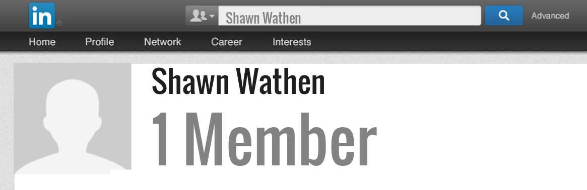 Shawn Wathen linkedin profile