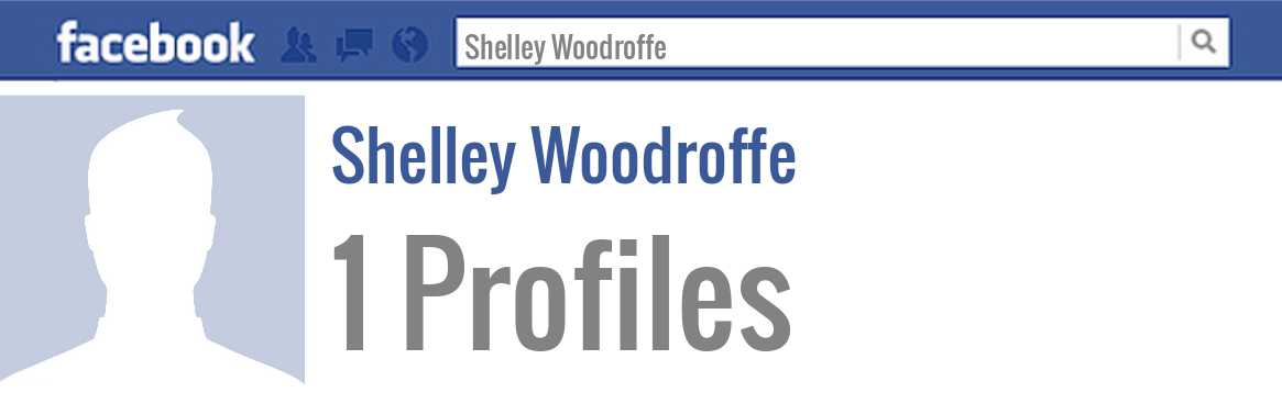 Shelley Woodroffe facebook profiles