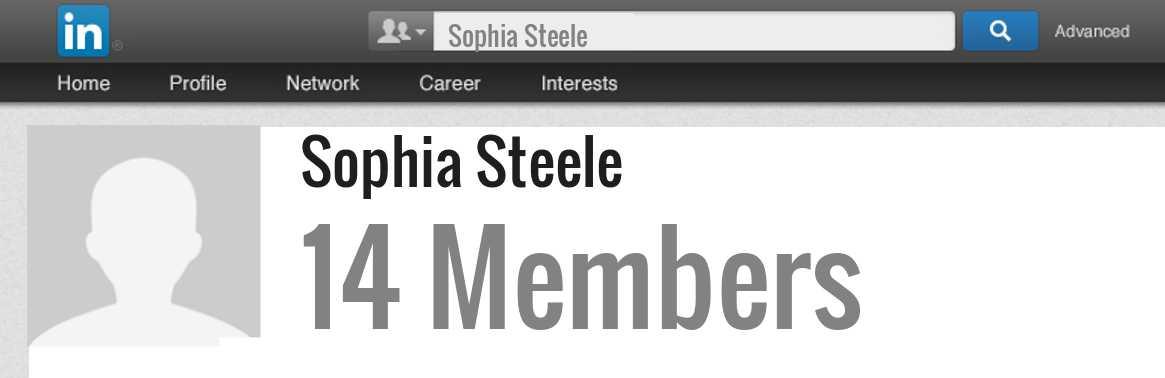 Sophia Steele Linkedin Profile