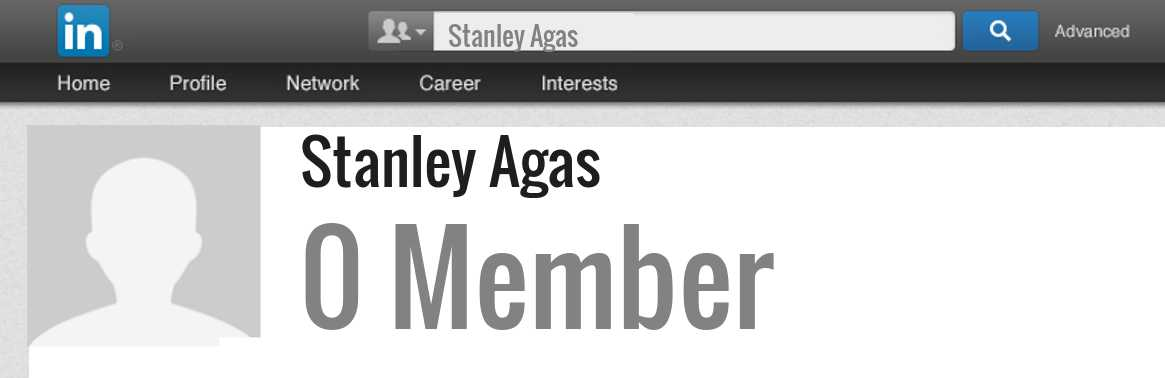 Stanley Agas linkedin profile