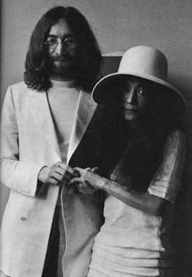 John and Yoko wedding