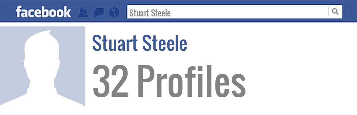 Stuart Steele facebook profiles