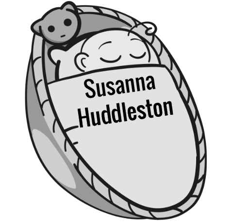 Susanna Huddleston sleeping baby