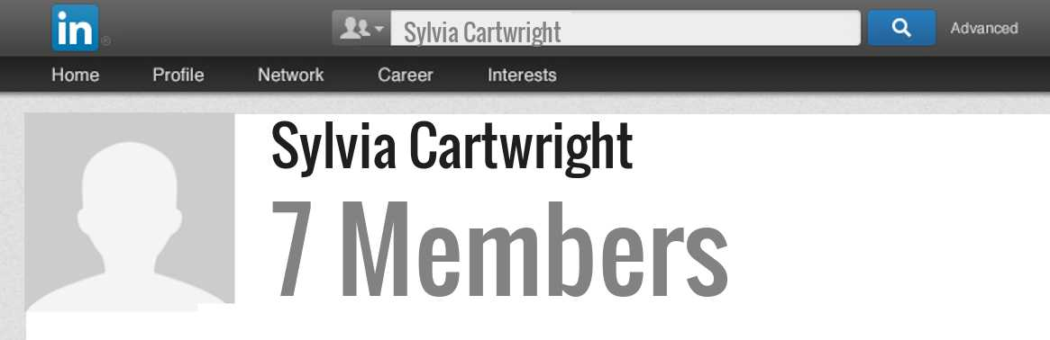 Sylvia Cartwright linkedin profile