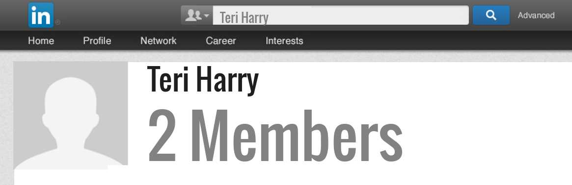 Teri Harry linkedin profile