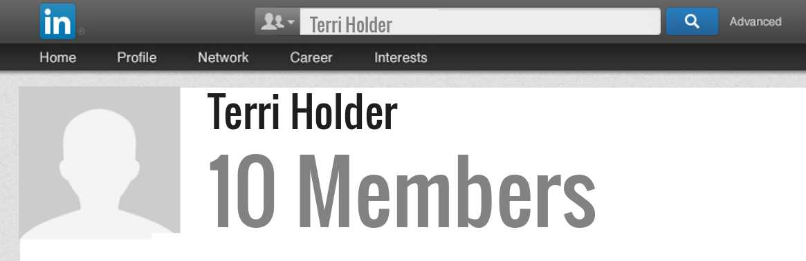 Terri Holder linkedin profile