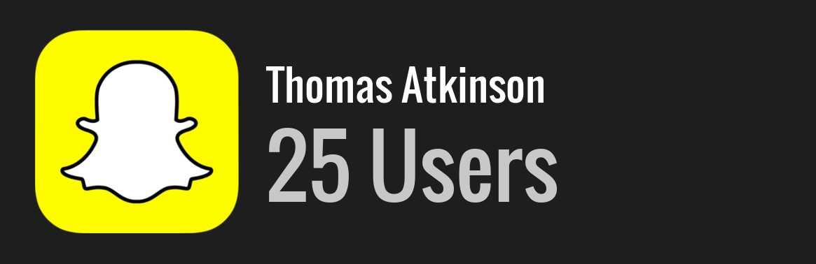 Thomas atkinson snapchat