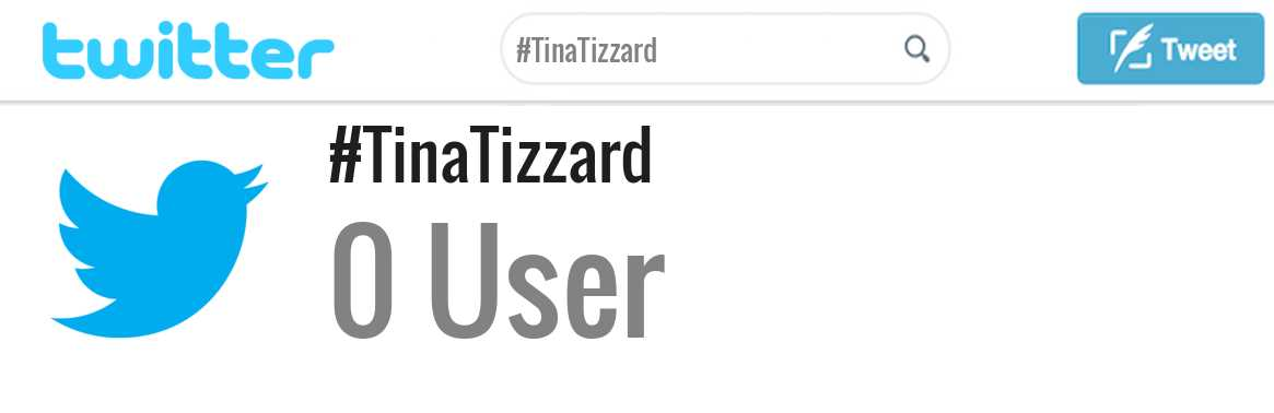 Tina Tizzard twitter account