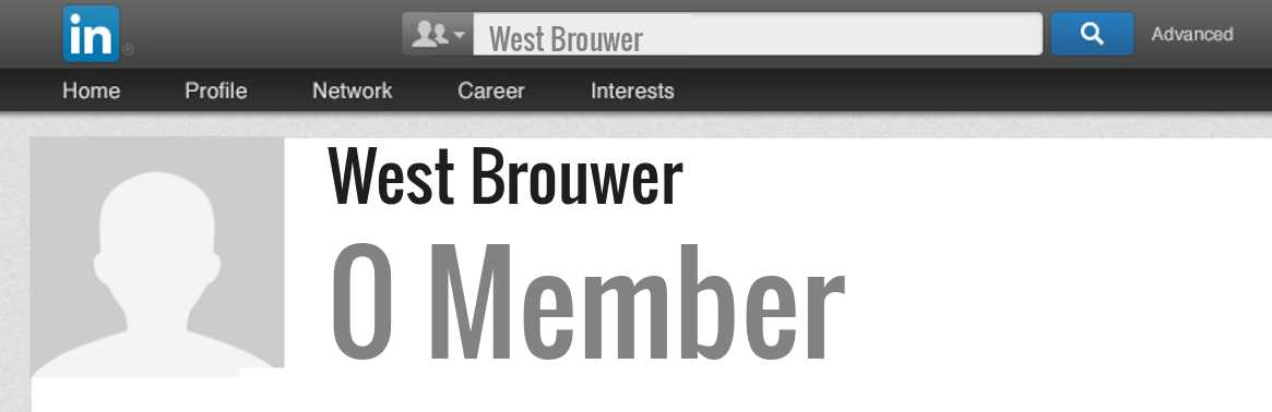 West Brouwer linkedin profile