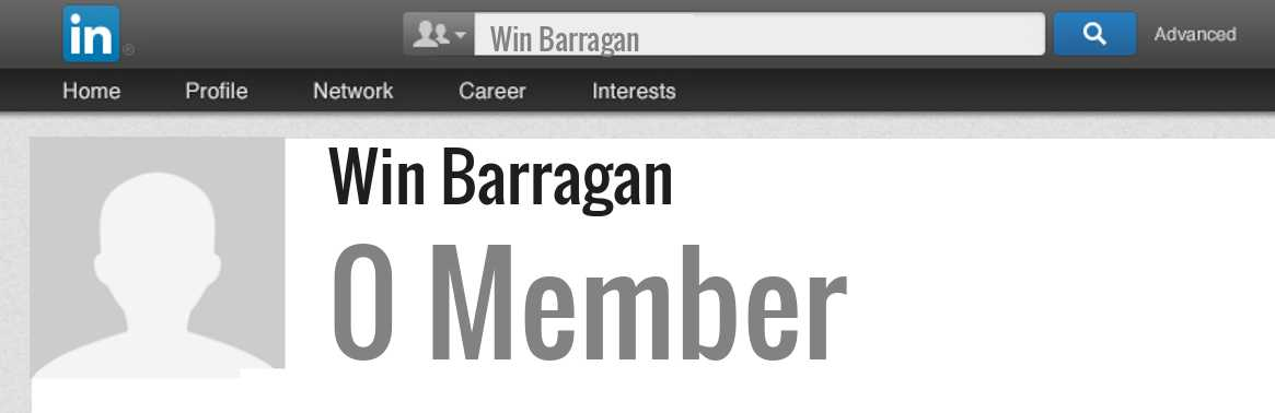 Win Barragan linkedin profile