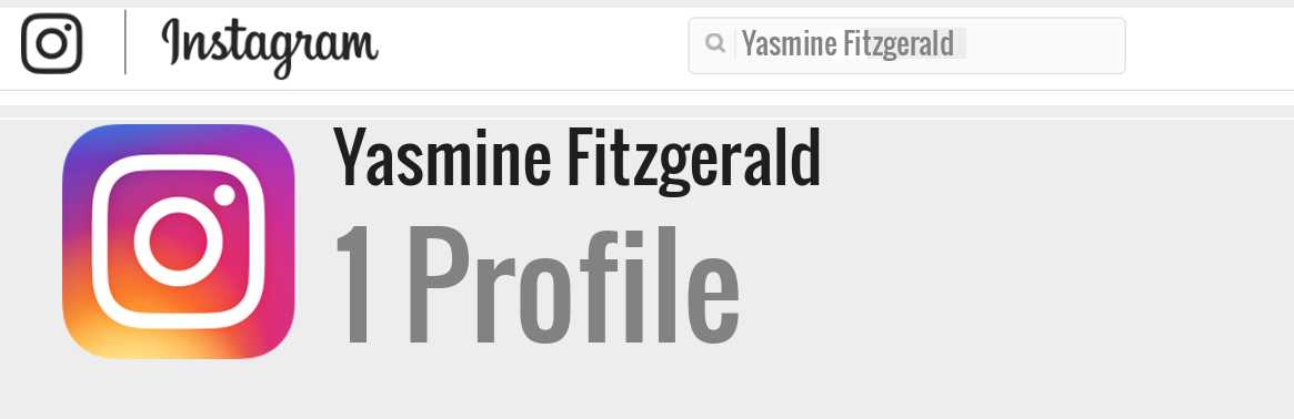 Yasmyne Fitzgerald