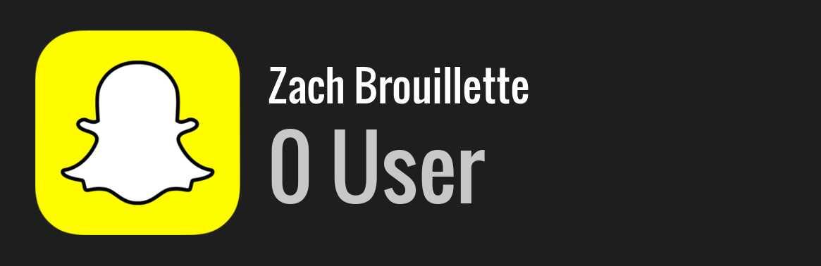 Zach Brouillette: Background Data, Facts, Social Media ...